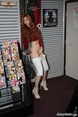 Lauren Phillips - Jerks Off in a Sexshop